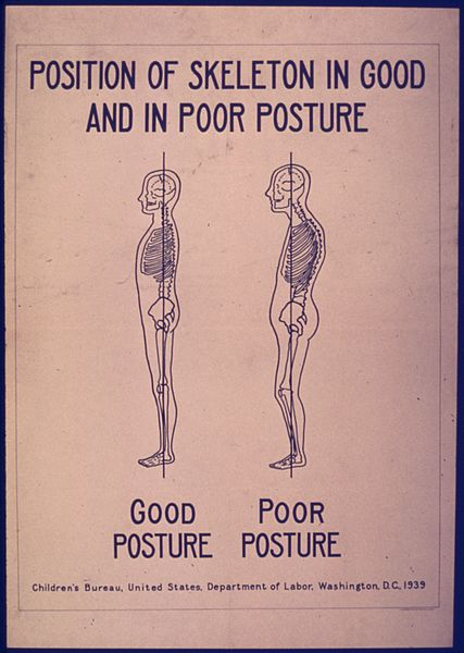 good posture to increase height